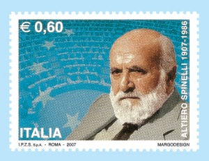 SPINELLI, Altiero 01 Postage stamp