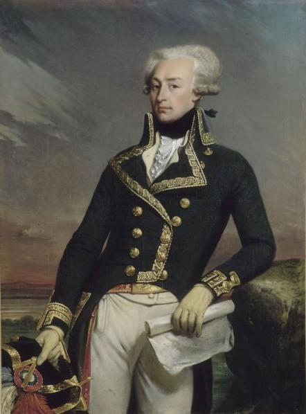 LAFAYETTE. Gilbert du Motier, Marquis de - 02